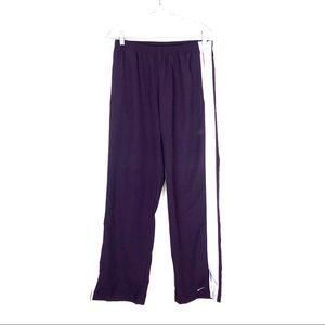 Nike Purple Jogging Workout Pants Sz M 8/10